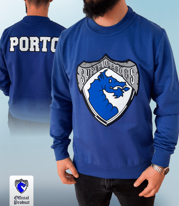 Loja Super Dragoes - Sweat s/ Capuz